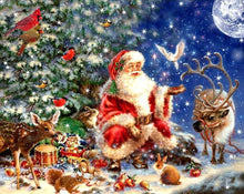 Load image into Gallery viewer, Santa Claus Diamond Painting