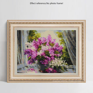 Flowers Paint by Diamond Kits