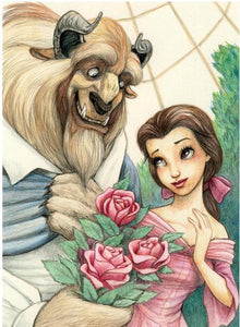 Beauty and the Beast Disney Paint with Diamonds