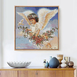 Cute Angel Diamond Painting Kit