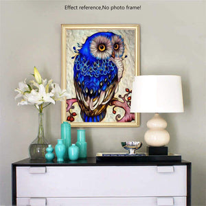 [Best Selling] Owl Diamond Painting Kit