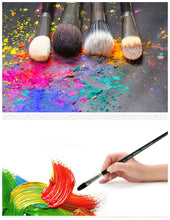 Load image into Gallery viewer, 6 Piece Weasel Hair Painting Brushes Set