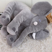 Load image into Gallery viewer, grey elephant pillow