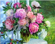 Load image into Gallery viewer, diamond painting flowers