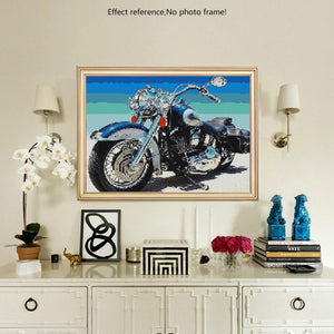 Bike Diamond Painting Kit