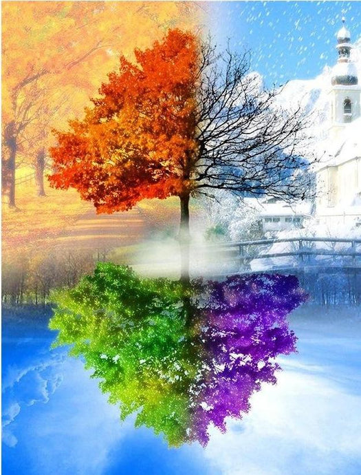 4 seasons diamond painting