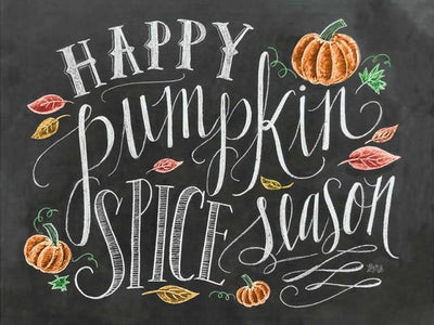 Happy Pumpkin Spice Season DIY Painting
