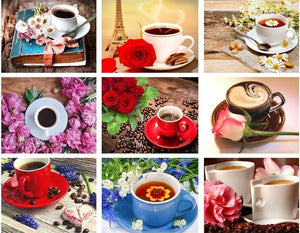 Coffee Lovers Diamond Paintings Collection