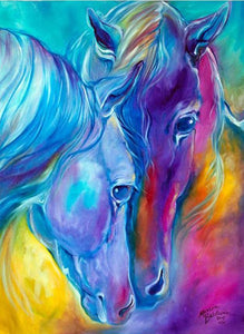 diamond painting horse