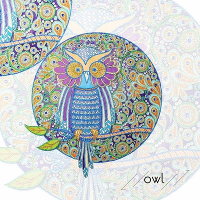 Owl - Diamond by Numbers Kit