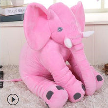 Load image into Gallery viewer, Baby Elephant Pillow Stuffed Toy