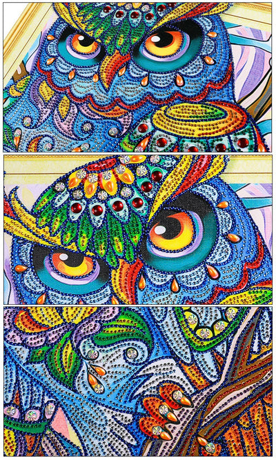 Owl - Artistic Diamond Painting