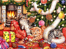 Load image into Gallery viewer, Cats Christmas