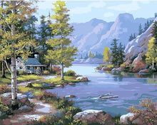 Load image into Gallery viewer, landscape adult diy painting