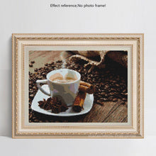 Load image into Gallery viewer, Coffee Lovers Gift - Diamond Painting Kit
