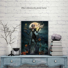 Load image into Gallery viewer, Halloween Diamond Painting Kit