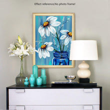 Load image into Gallery viewer, White Flowers Paint by Diamonds