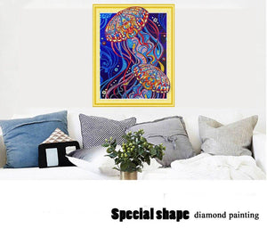 Jelly Fish Diamond Painting Kit