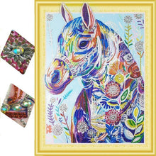 Load image into Gallery viewer, horse diamond art kit