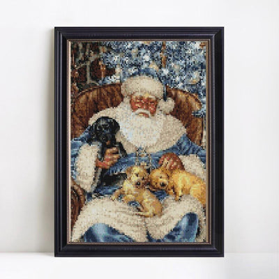 Santa Diamond Painting