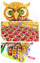 Load image into Gallery viewer, Owl - Special Shaped Diamond Painting Kit