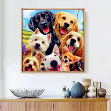 Load image into Gallery viewer, Dogs - Diamond Art