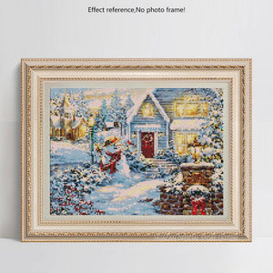Christmas Diamond Painting Art Kit