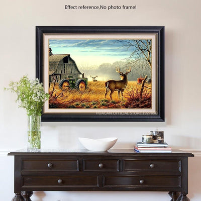 Deer Paint by Diamonds Kit