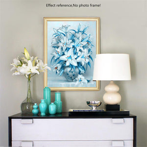 White Flowers Painting Kit