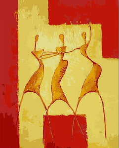Dancing Women Painting Kit + Abstract Picasso Painting