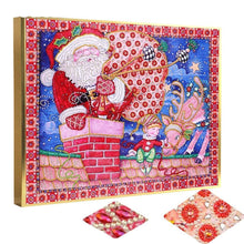 Load image into Gallery viewer, christmas diamond art kit