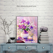 Load image into Gallery viewer, Lavender Diamond Painting Pattern + Kit