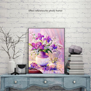 Lavender Diamond Painting Pattern + Kit