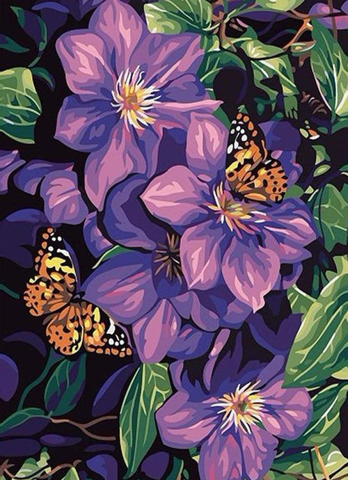 flowers diamond painting