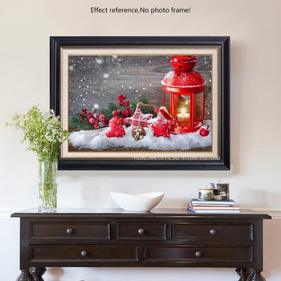 Square Diamond Painting kit - Christmas Diamond Painting