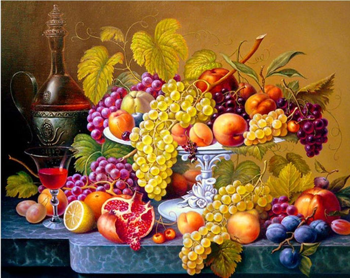 Fresh Fruits Diamond Painting Kit