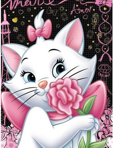 diamond painting cat cartoon