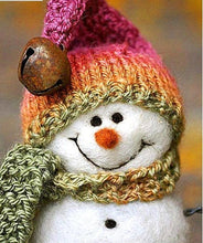 Load image into Gallery viewer, snowman cute