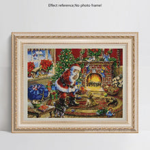 Load image into Gallery viewer, Santa on Christmas 5D Diamond Painting Kits
