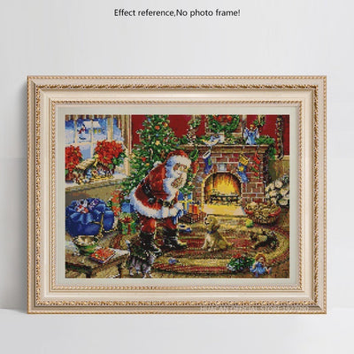 Santa on Christmas 5D Diamond Painting Kits