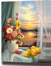Load image into Gallery viewer, Colorful Lovely Flowers Painting - paint by number