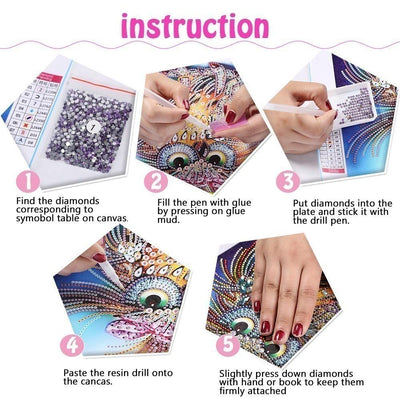 Cat Diamond Painting Kit for Adults
