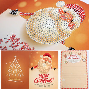 Christmas Greeting Cards Diamond Painting