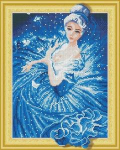 Cartoon Paintings with Rhinestones aka Diamonds