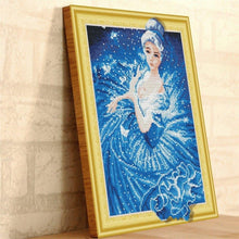 Load image into Gallery viewer, Cartoon Paintings with Rhinestones aka Diamonds