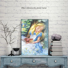 Load image into Gallery viewer, Alice in Wonderland Disney Diamond Art Kit