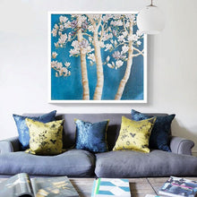 Load image into Gallery viewer, Magnolia Plant & Flowers - PBN Kit