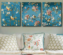 Load image into Gallery viewer, Birds and flowers Painting for Home Decor