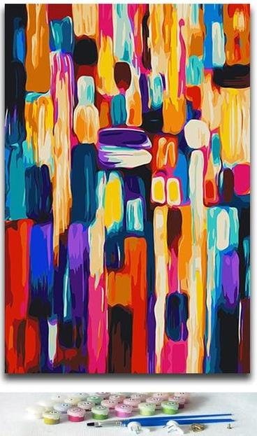 Different Abstract Collection - Paintings by number
