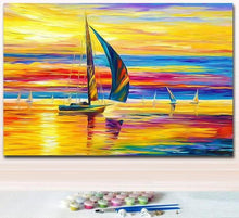 Load image into Gallery viewer, Different abstract Colorful Paintings for Home Decor - paint by number kits